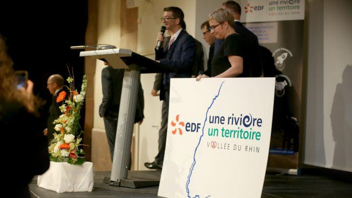 "Inauguration Agence EDF ""Une Rivière, Un Territoire"", Vallée du Rhin"