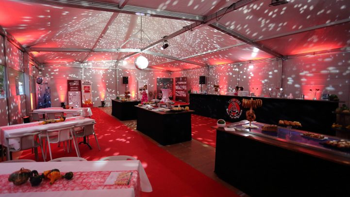 Le nouvel espace VIP du Business Club Scorpions Mulhouse